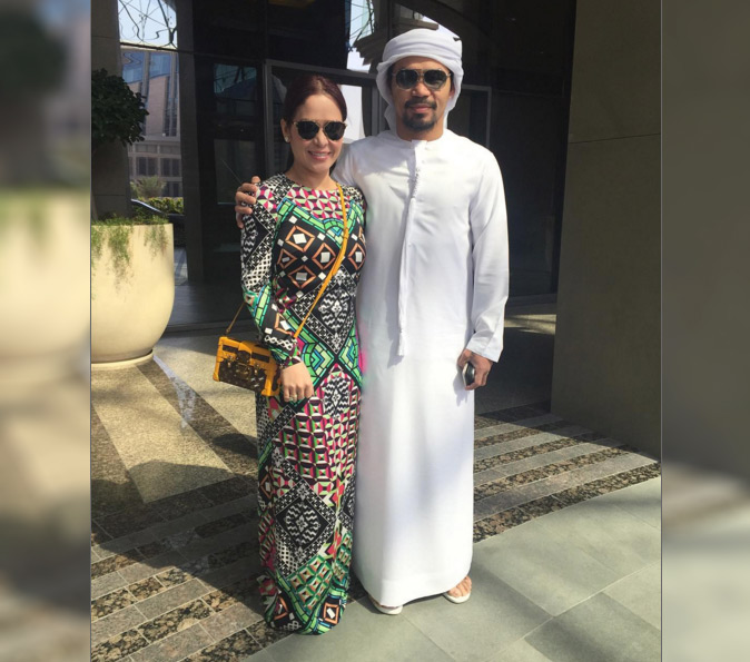Manny Pacquiao wears Arab costume after 'Eat Bulaga' controversy