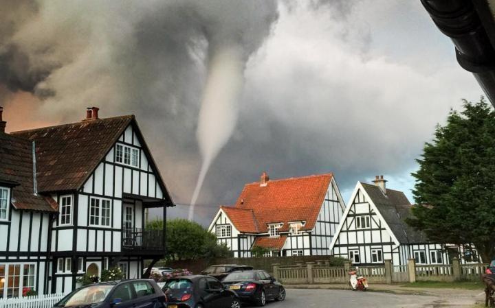 Water Tornado Video