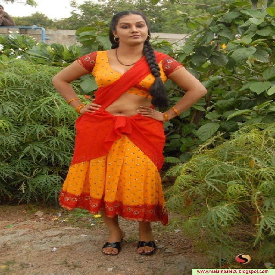 Apoorva Mallu Reshma Aunty Mallu Bhabi Hot Masala Actress -8429
