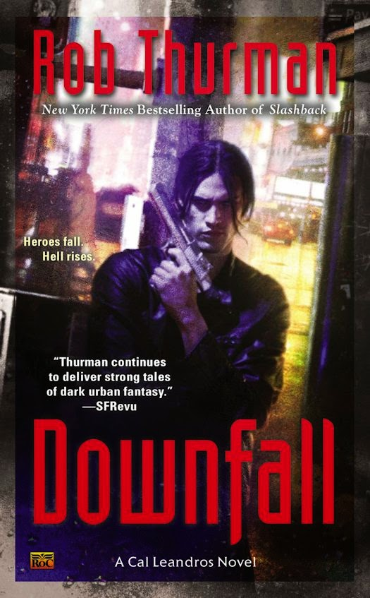 Release Day Review: Downfall by Rob Thurman
