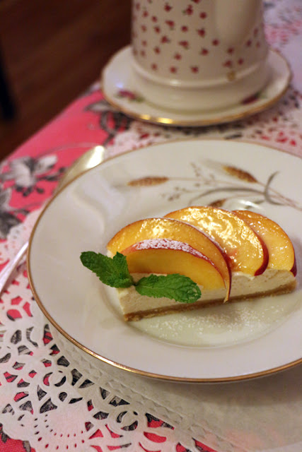 Kuchen bei Jasmin-Citronelle, Teesalon in Poitiers