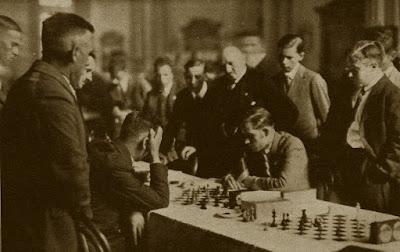 Partida Kurt Richter - Àngel Ribera, Hamburgo, 15 de mayo de 1930