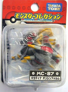 Giratina figure origin form Takara Tomy Monster Collection MC series