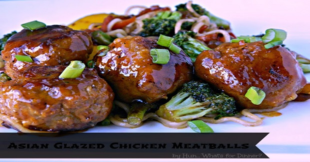 Asian Glazed Chicken Meatballs Recipe