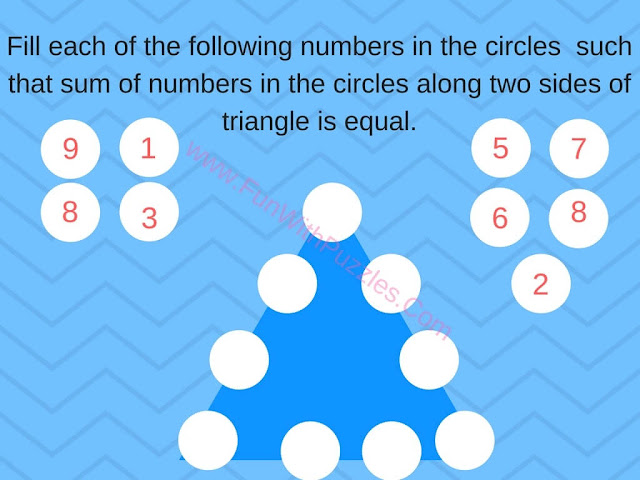 Math Number Triangle Puzzle-2