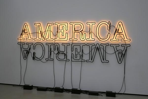Double America 2 Glenn Ligon