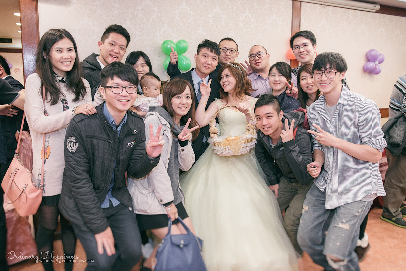 平凡幸福婚禮攝影,婚攝作品:送客合照