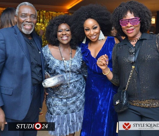 nollywood stars betty irabor birthday party