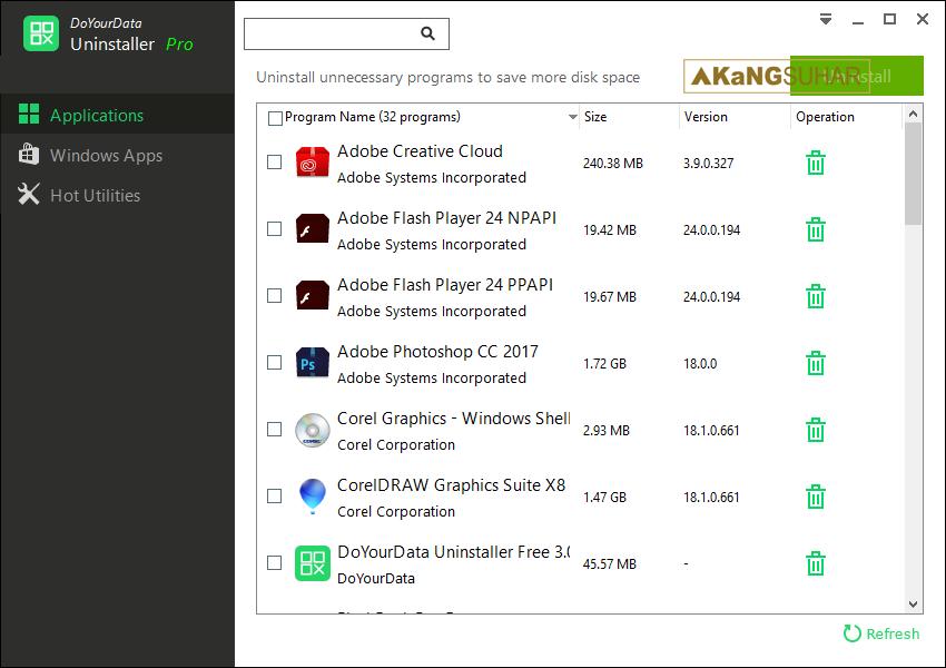 Download DoYourData Uninstaller Pro 3.0 Full Version