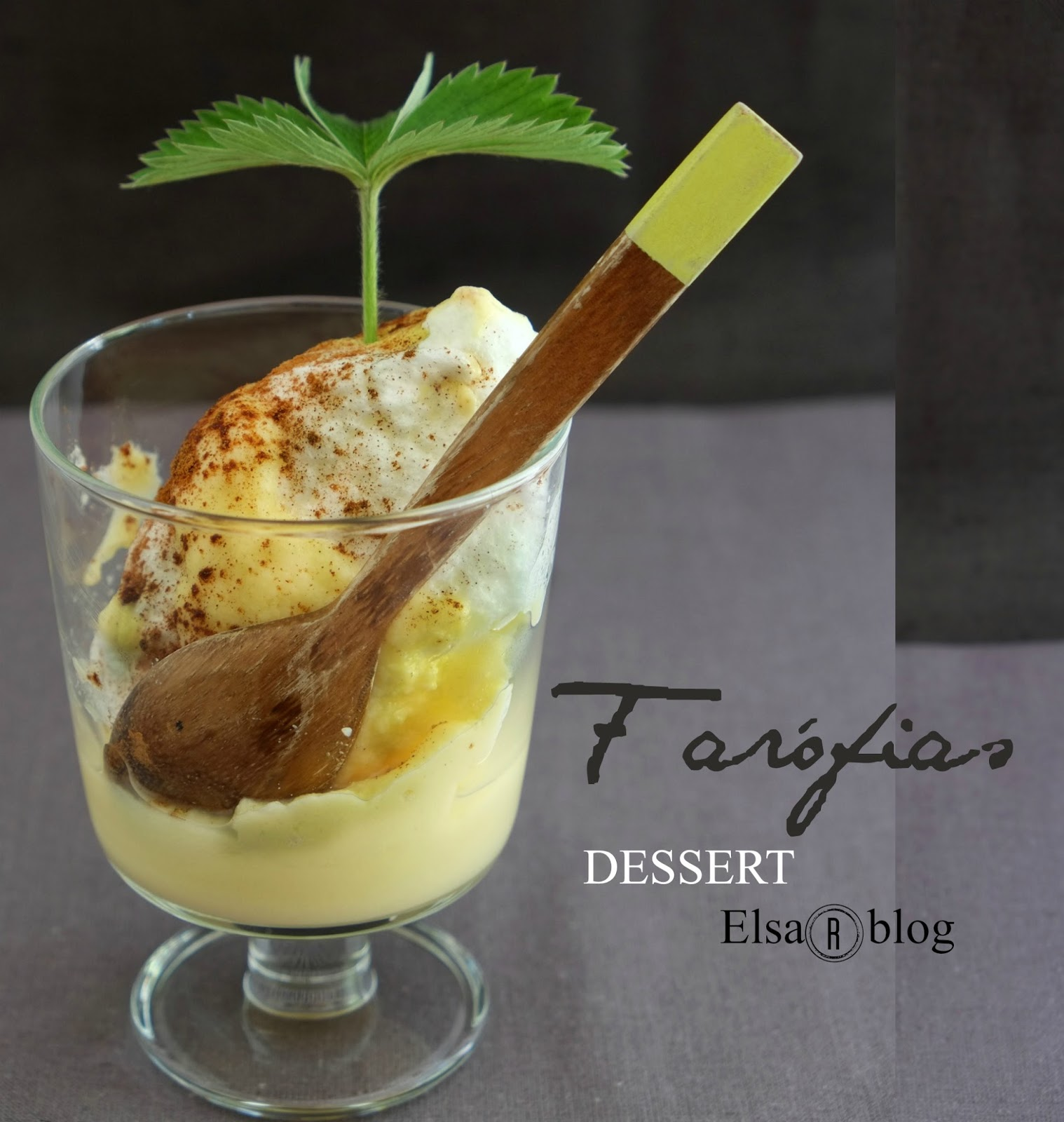 Farófias, makkelijk dessert (Recept uit Portugal)