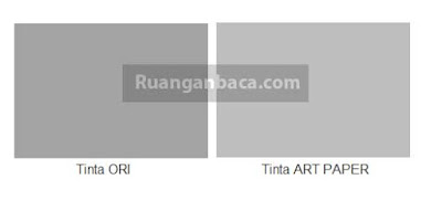 Perbandingan Warna antara Tinta ORI EPSON dan Tinta ART PAPER