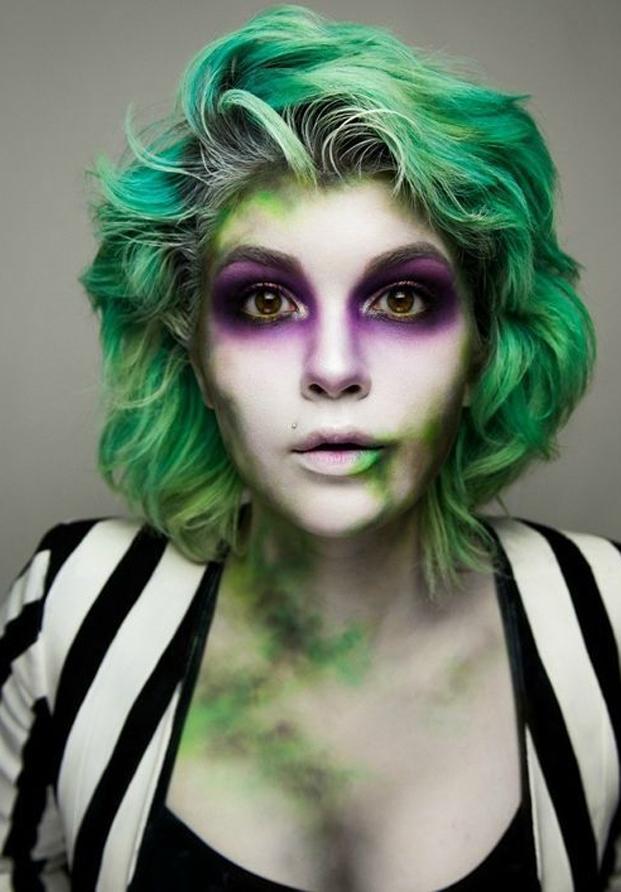 Maquillaje Halloween Beetlejuice