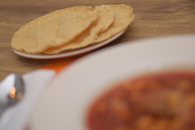 Tostados to enjoy with a delicious bowl of Pozole Rojo