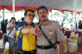 Sofian Tjandra Bersama Kapolda Kalimantan Barat