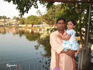 Pranitaa with her father