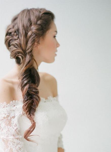 Recogidos de novia con diadema Fotos de los peinados (Foto) Ella  - Peinados Con Diademas Para Bodas