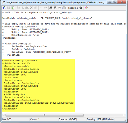 INSTALLATION DOCUMENTS BY RAVI: CONFIGURING OBIEE 12C TO