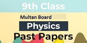 Physics Past Papers