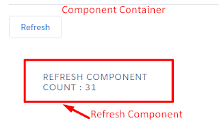 Refresh component or sections in Lightning component - Salesforce