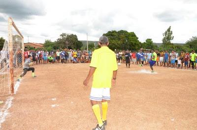 Prefeitura de Formosa do Rio Preto promove Torneio de Futebol nos festejos da comunidade de Canabrava