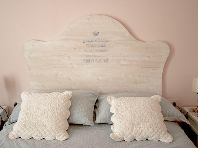 testata del letto