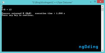 Tipe Data Dan Variabel Dalam Bahasa Pemrograman C++