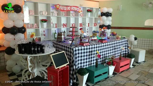 Decoração de festa de aniversário tema Boteco - Botequim
