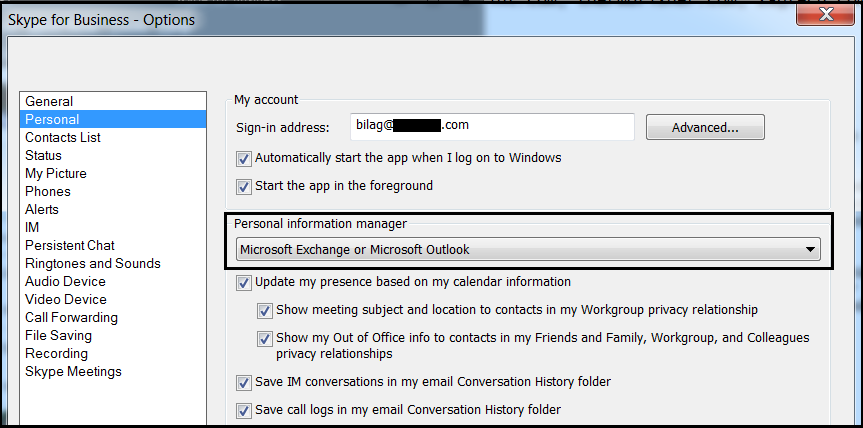Skype for Business keeps prompting credential  – UC Now