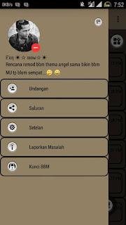 BBM Soft Brown V3.0.1.25 Apk Terbaru