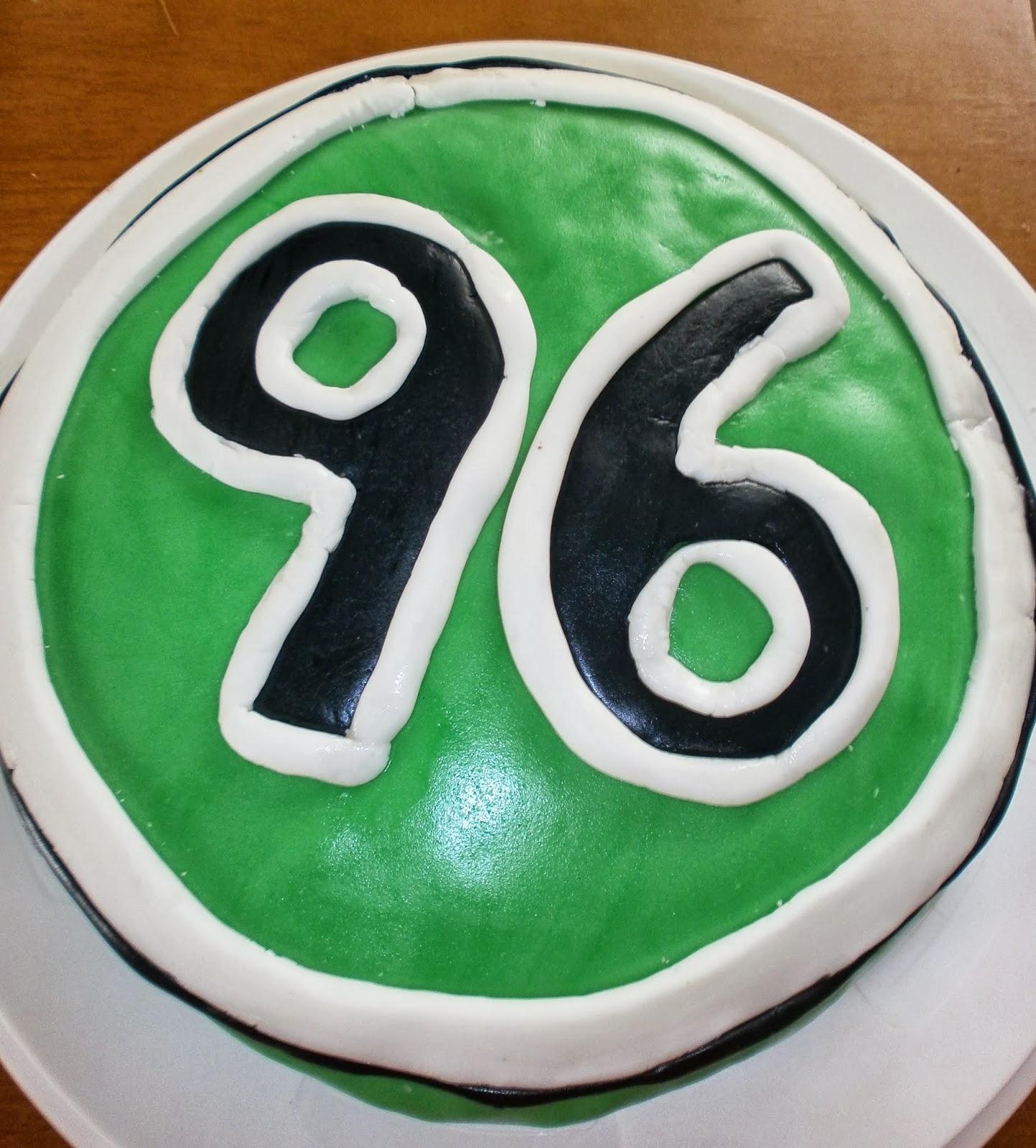 Mellys Backstube Hannover 96 Torte