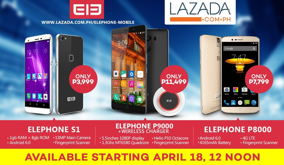 Elephone arrives in the Philippines
