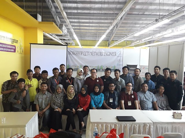 Workshop CCTV Network Engineer 2018 Jababeka