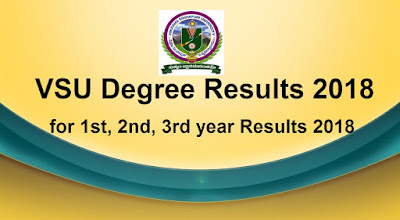 Manabadi VSU Degree Results 2018, VSU Nellore Results 2018 Schools9