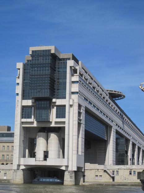 Modern Architecture Walk In Paris