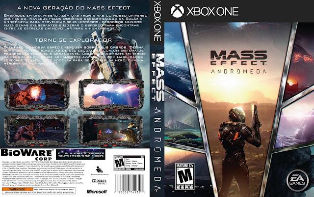 Capa Mass Effect Andromeda Xbox One [Exclusiva]