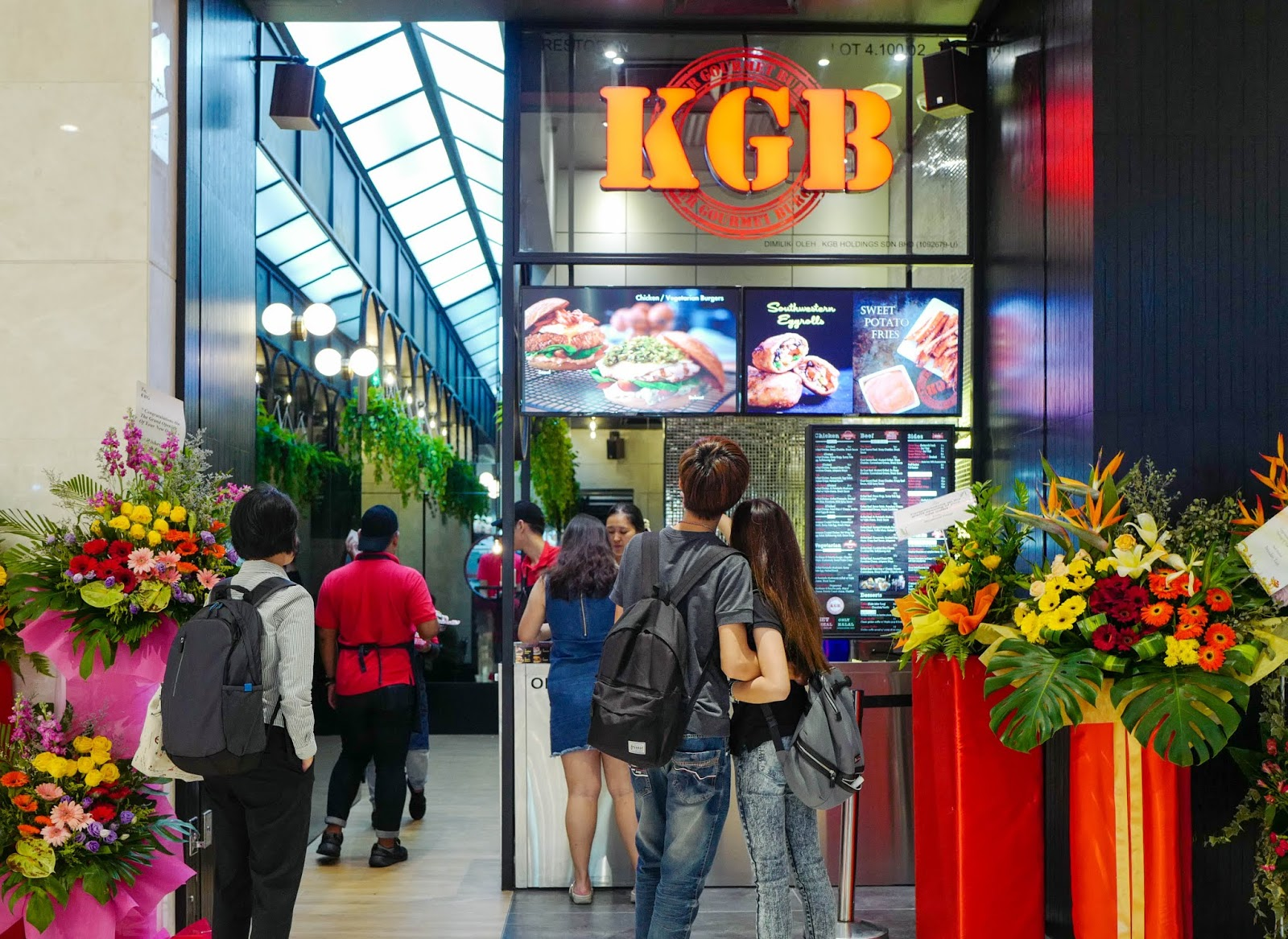kgb: killer gourmet burgers, pavilion kl