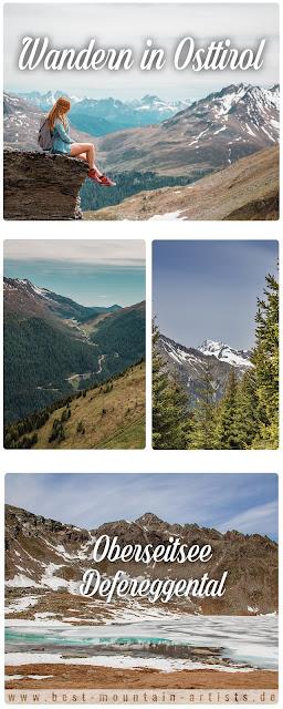 Wandern in Osttirol  Oberseitsee St. Jakob Defereggental 13