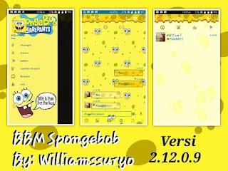BBM MOD Spongebob - Download BBM Spongebob APK versi Terbaru dan Versi Lama for Android