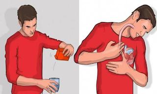 Ρίξε λίγη μαγειρική σόδα σε νερό και πιες το – Αν ρευτείς μέσα σε 5 λεπτά σημαίνει κάτι