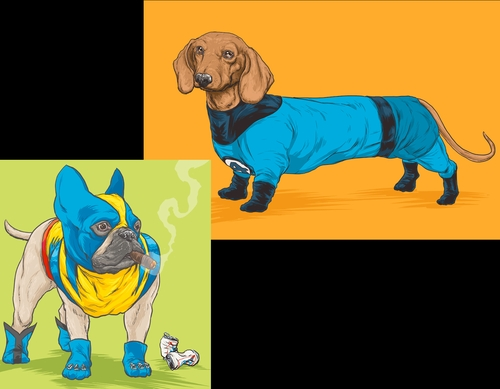 00-Josh-Lynch-Illustrations-of-Dogs-with-Marvel-Comic-Alter-Egos-www-designstack-co