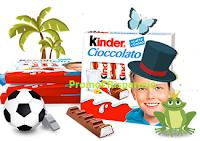 Logo Kinder Cioccolato Fotogame: vinci gratis 100 forniture da 20 pack Kinder Cioccolato da 4 pezzi