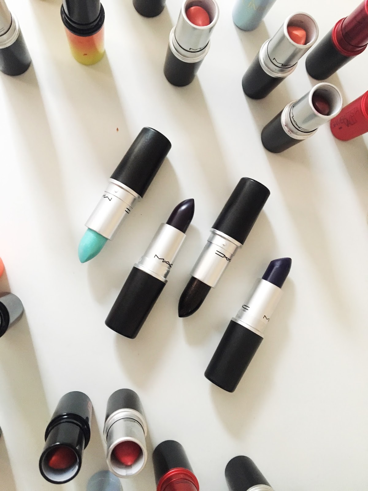 Dark mac lipsticks