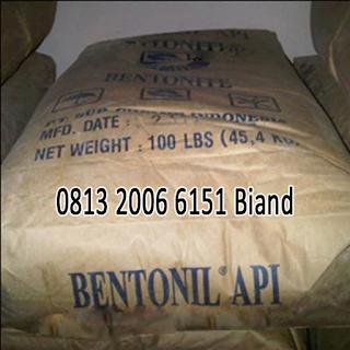 jual Bentonite - Bentonil API