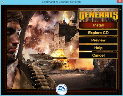Command & Conquer Generals Kurulumu