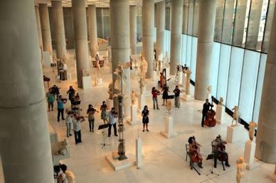 Μειώθηκαν κατά 7,5% οι επισκέπτες στα μουσεία τον Ιούνιο
