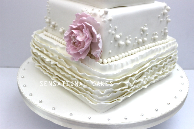 Just Observed The All Behind This Cake Concept And Artwork To Layered Embled Of Ruffles In Simply Uniformity