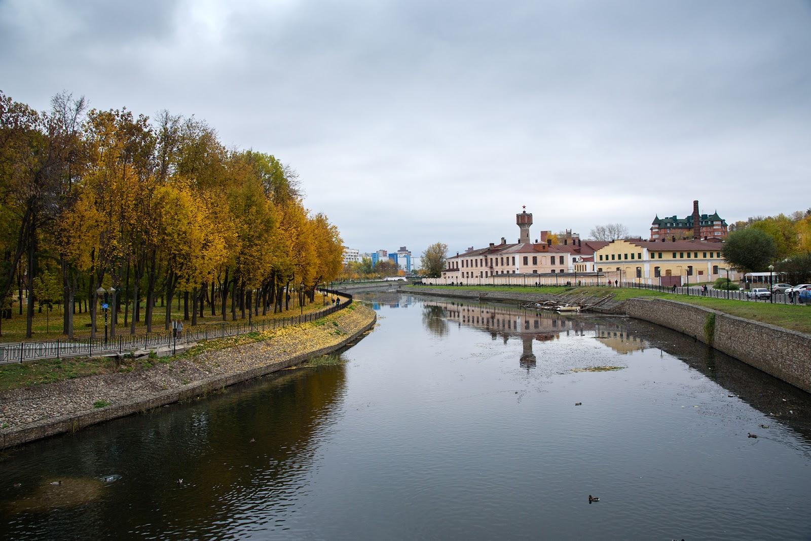 Фотографии Иваново. Вид с театрального моста