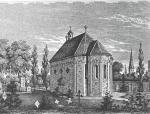 Georgskapelle auf dem Alten Friedhof Bonn um 1850