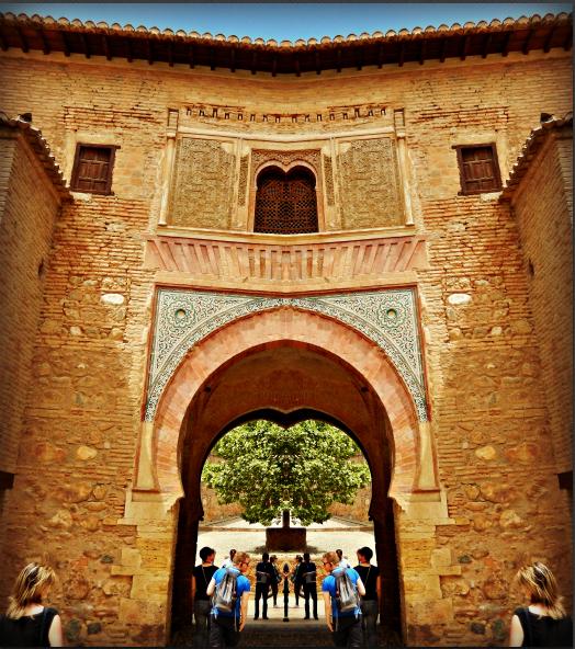 Wine gate at Alhambra