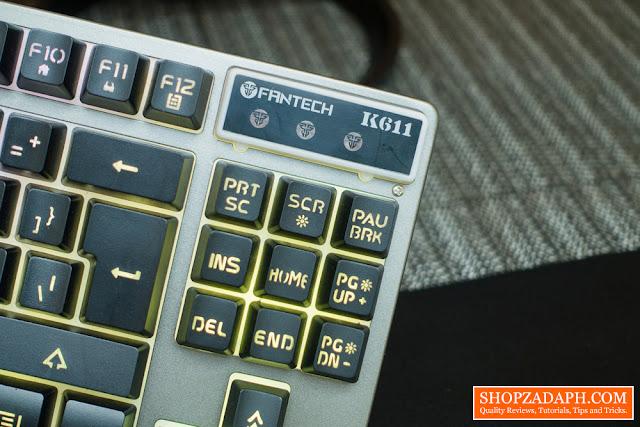 fantech k611 gaming keyboard review